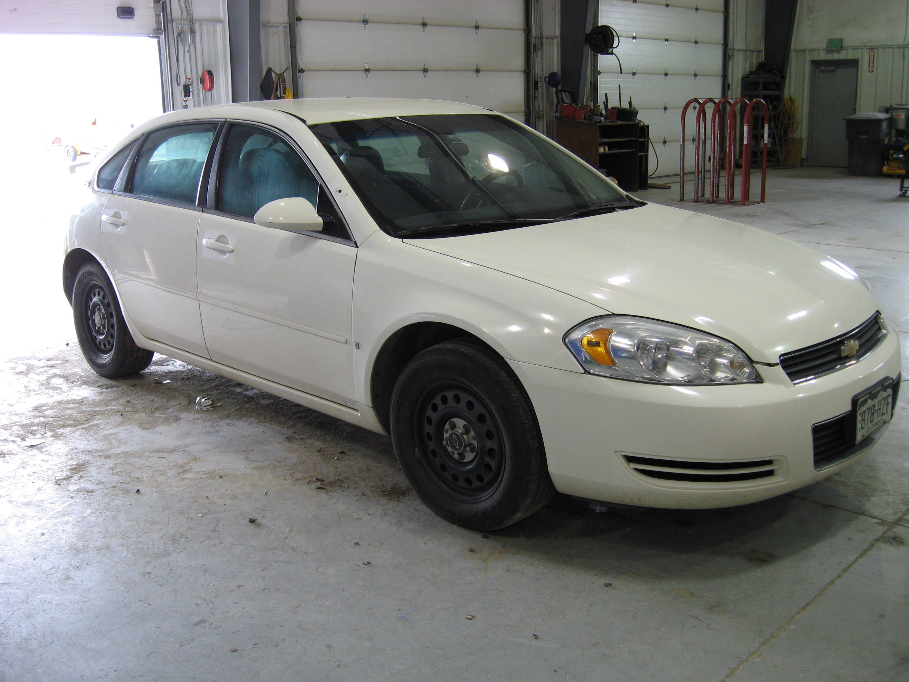 2007 Chevy Impala (White)