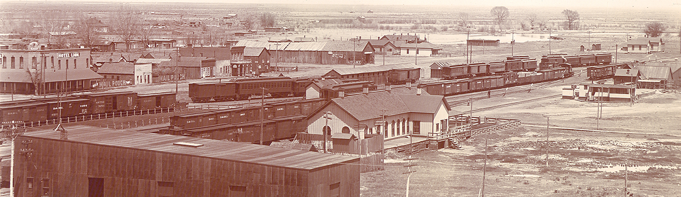 Photo of Alamosa in the early 1900