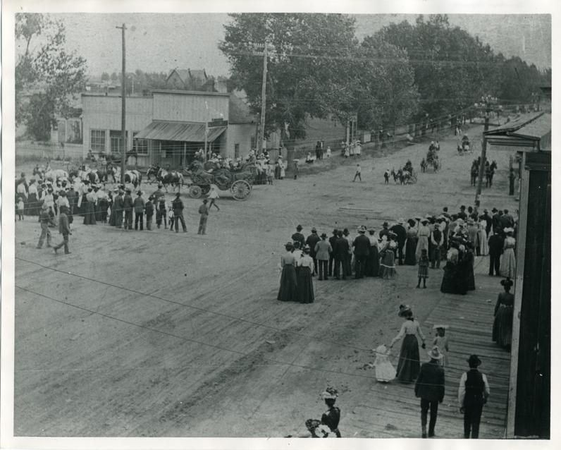 Early Parade City Of Alamosa