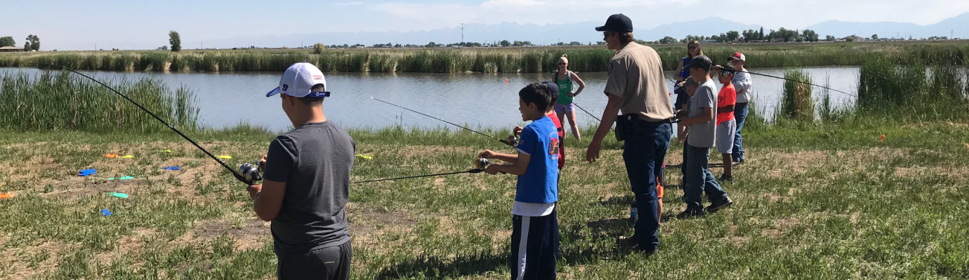 Fishing Practice at the Blanca Vista Park