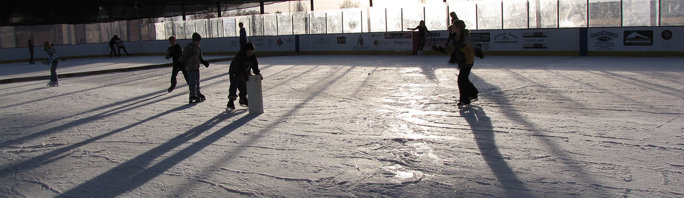 Photo of the Carroll Park Ice Rink