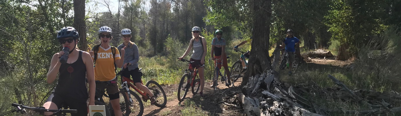 Mountain Biking on one of Alamosa's Trail Systems