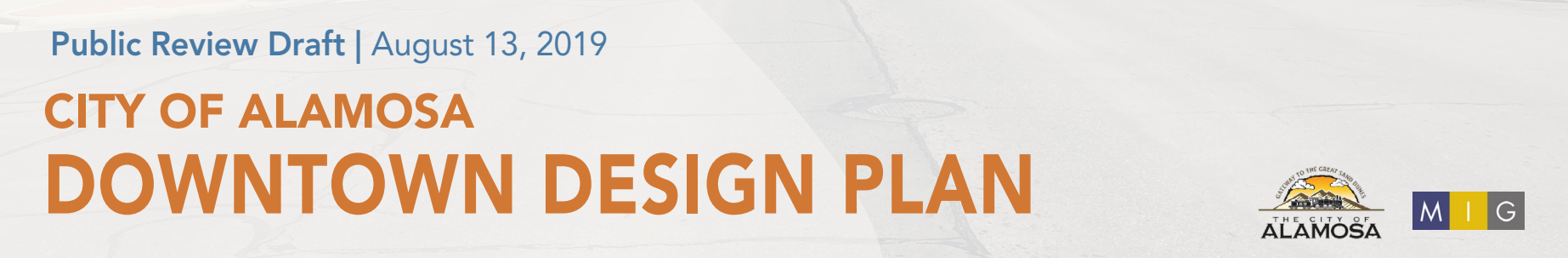 Click Above to Review the Downtown Design Plan Public Review Draft